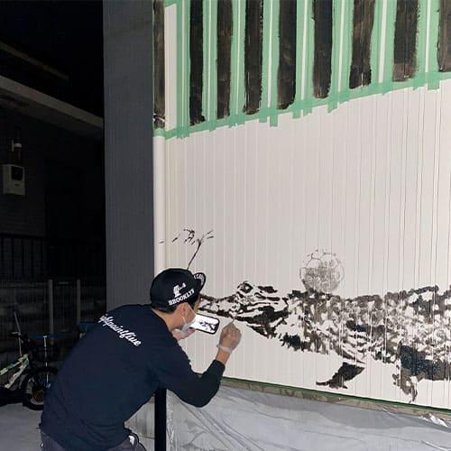 壁画エリア8.5